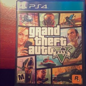 GTA 5 for the PS4